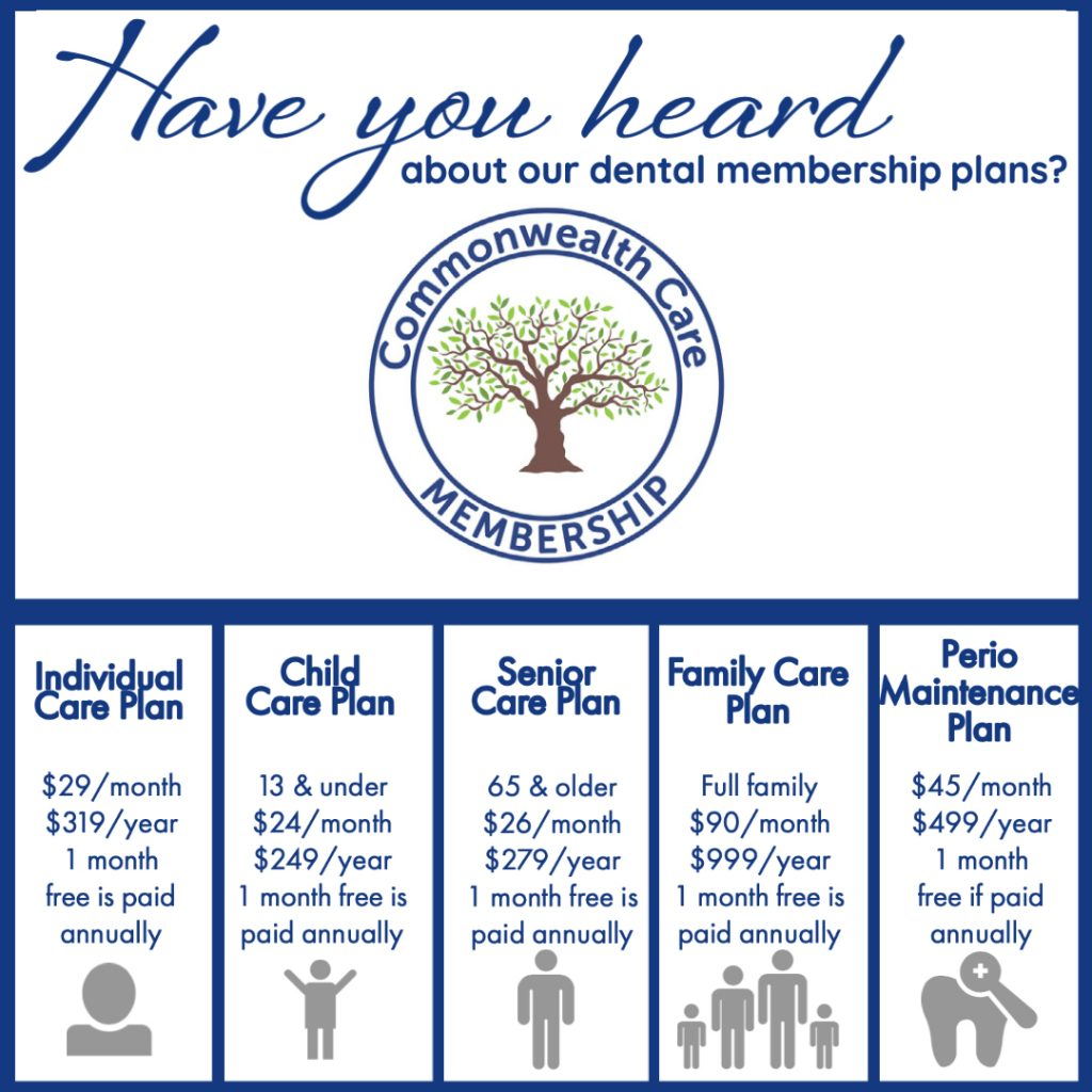 Commonwealth Care membership plans
