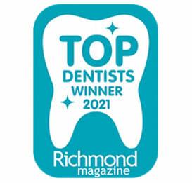 Top Dentist award 2021 Commonwealth Dentistry